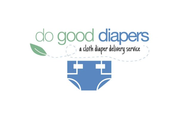 Do Good Diapers logo design