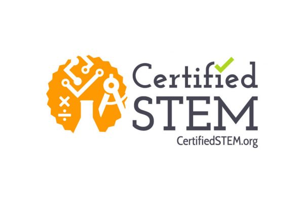 Certified STEM logo design